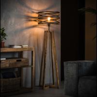 Vloerlamp Ian + led lamp cadeau