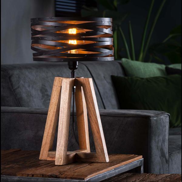 Tafellamp Ian + led lamp cadeau