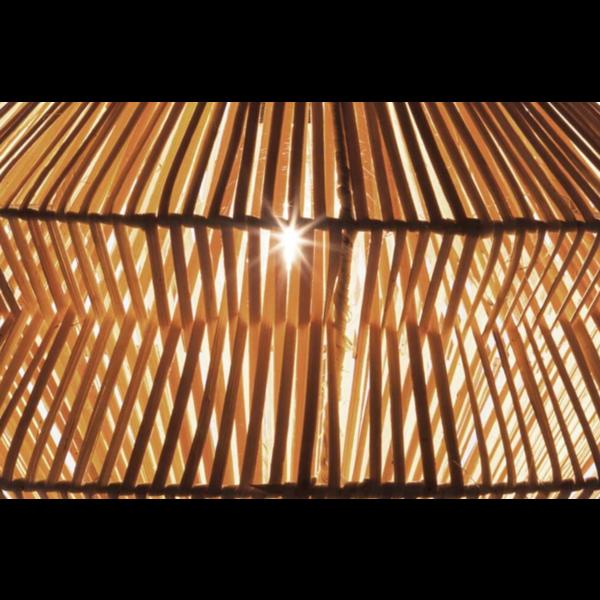 Hanglamp Tai Dubbel, in twee kleuren.