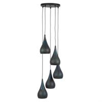 Hanglamp Dan + 5 led lampen cadeau