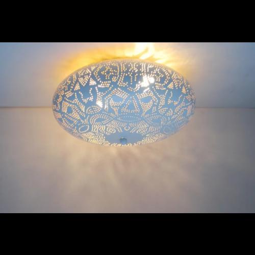 Plafondlamp Ameera Wit/Goud in 3 maten