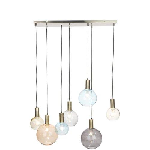 Hanglamp Gaby + 7 led lampen cadeau