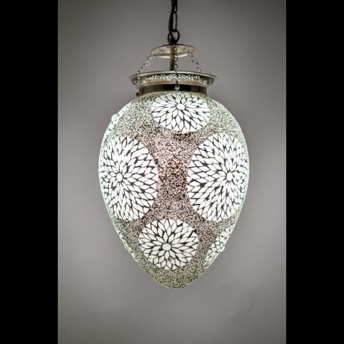 Hanglamp Rima papaya transparant