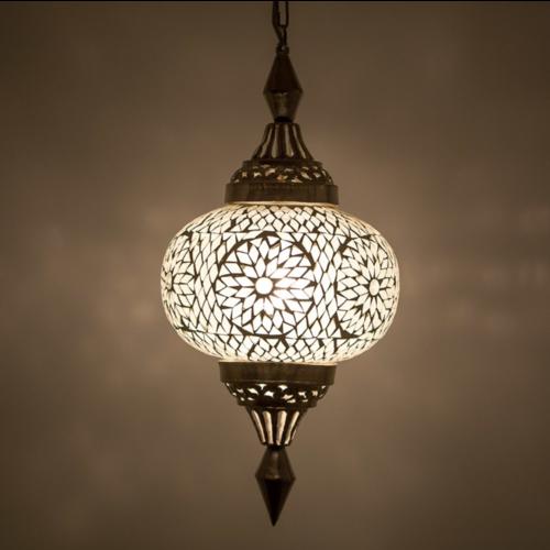 Hanglamp Roya pompoen transparant