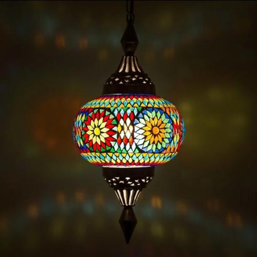 Hanglamp Roya pompoen multi colour