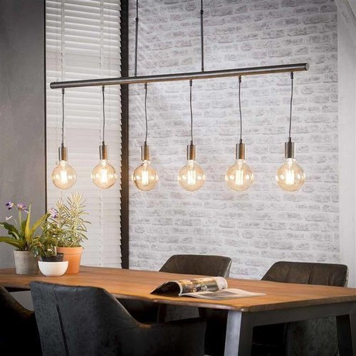 Hanglamp Brock + 6 led lampen cadeau