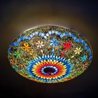 Plafonniere Sabi multi colour 38cm