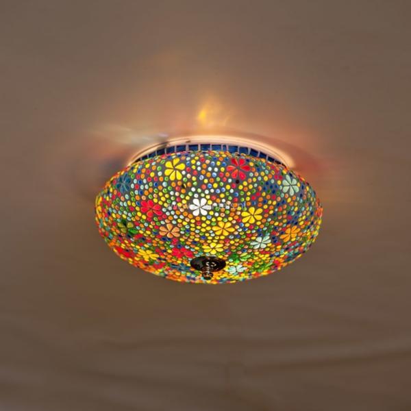 Plafonniere Hudat multi-colour in 2 maten