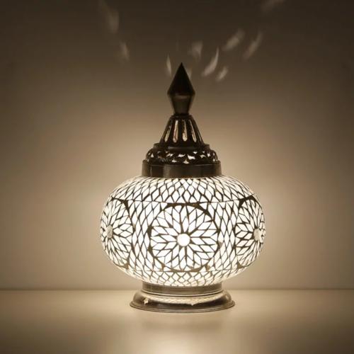 Tafellamp Dema transparant