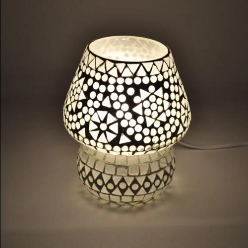 Tafellamp Mazel transparant