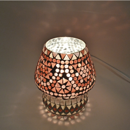 Tafellamp Mazel paars
