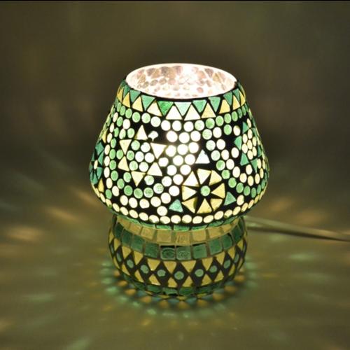 Tafellamp Mazel groen