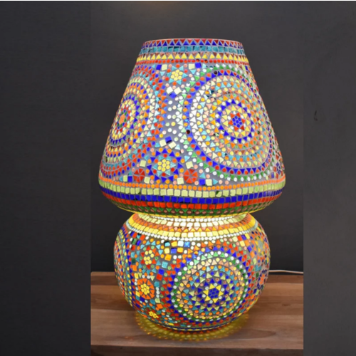 Tafellamp Beza multi-colour 60cm