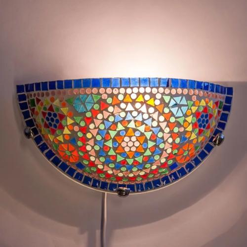 Wandlamp Cantara multi-colour