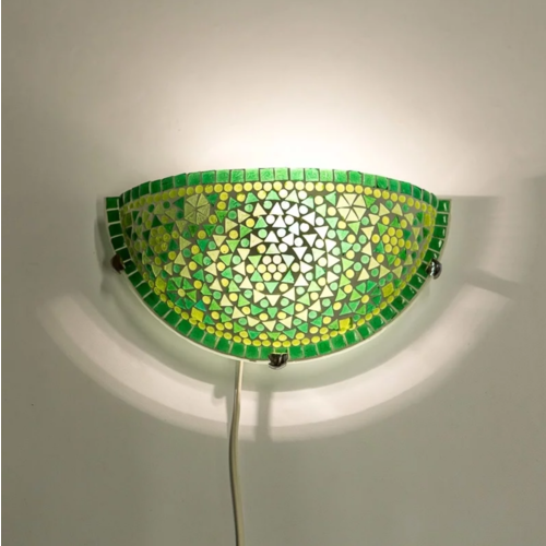 Wandlamp Cantara groen