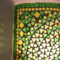 Wandlamp Nema groen