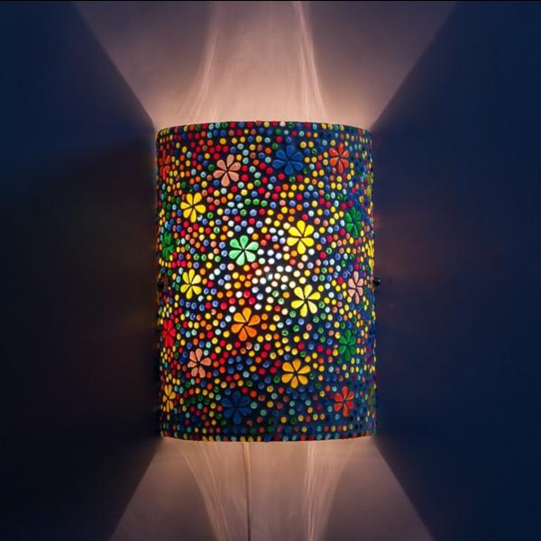 Wandlamp Rundi multi-colour