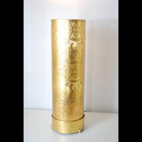 Vloerlamp Ameera vintage goud in 3 maten