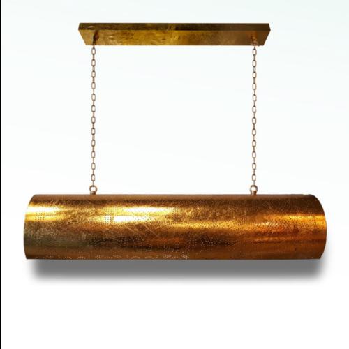 Hanglamp Ameera vintage goud horizontaal