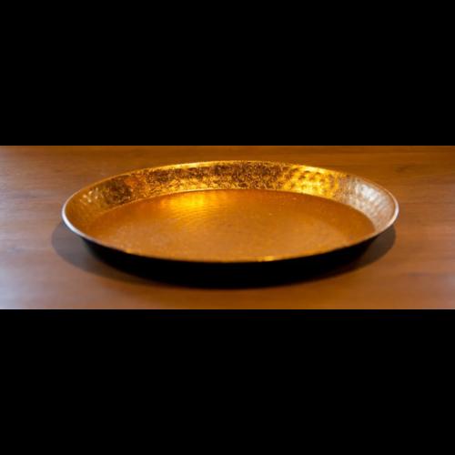 Orientaals dienblad vintage goud