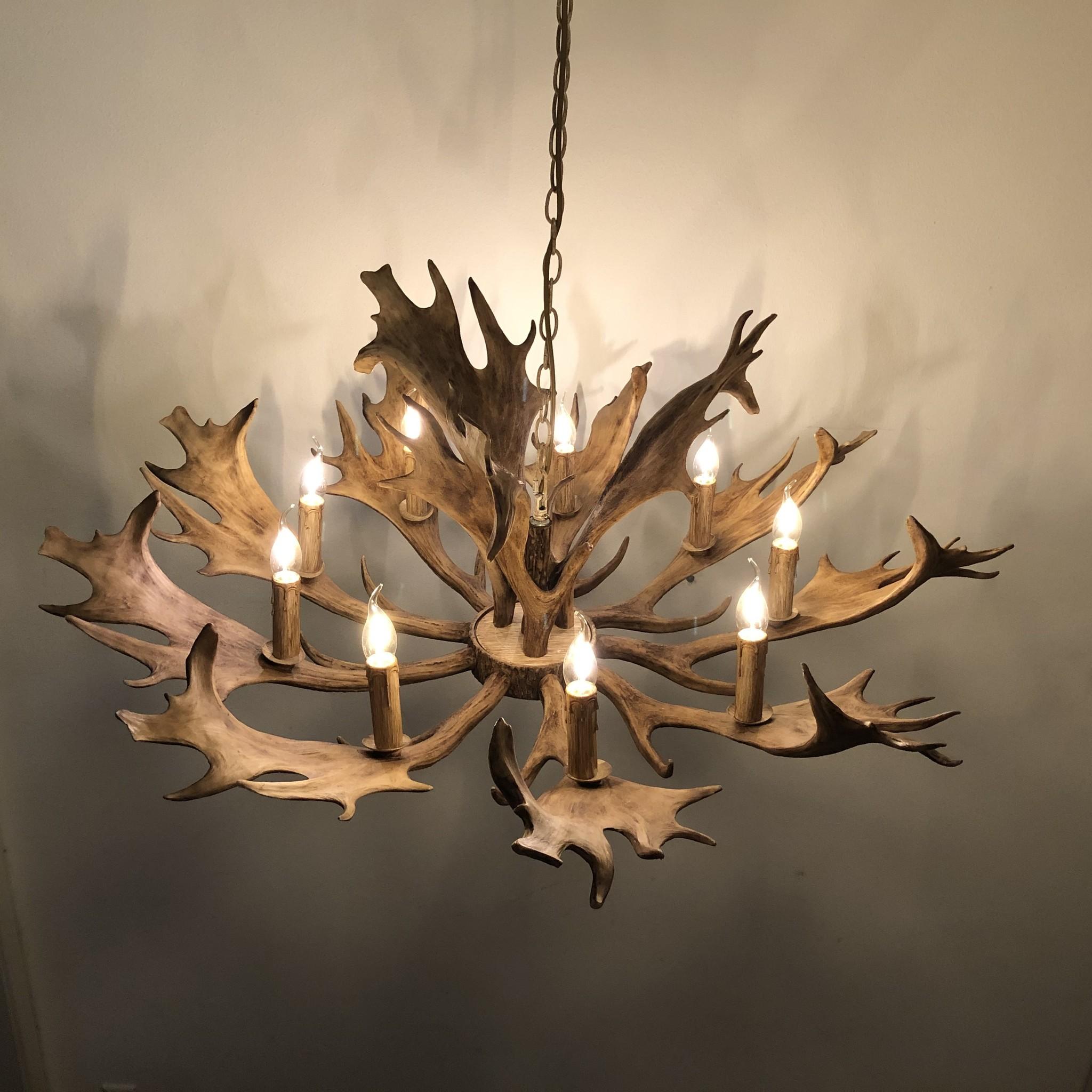 Herten gewei lampen van dePauwWonen