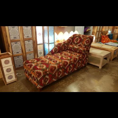 Sofa Ranya kelim rood