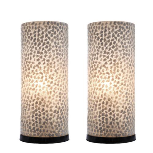 Tafellamp set Jordan Cilinder in twee maten