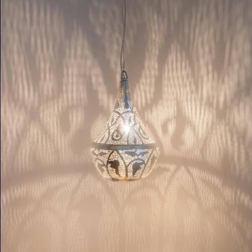 Hanglamp Anubis Leaves Zilver in 2 maten