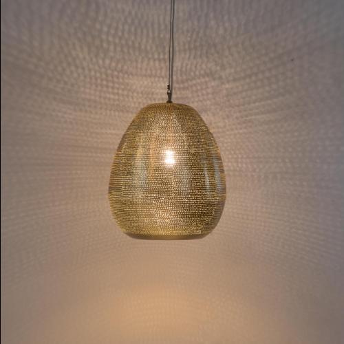 Hanglamp Monifa Goud in 3 maten