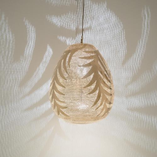 Hanglamp Monifa Palm Goud Large