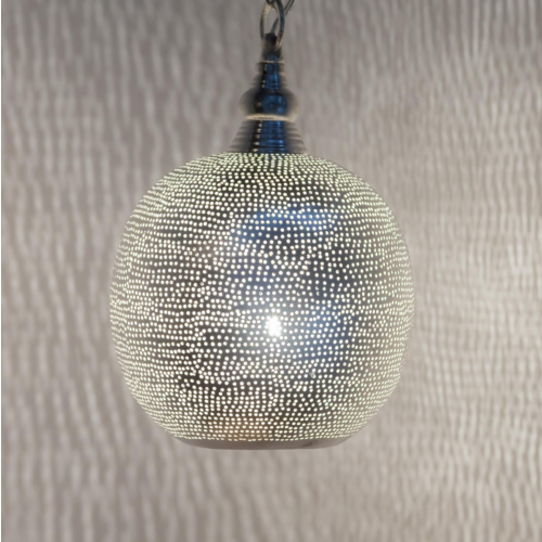 Hanglamp Chavi Zilver in 5 maten