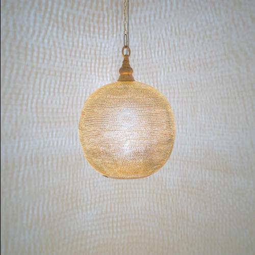 Hanglamp Chavi Goud in 3 maten