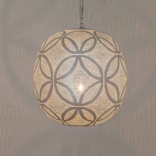 Hanglamp Chavi Suns Zilver Ø 27cm