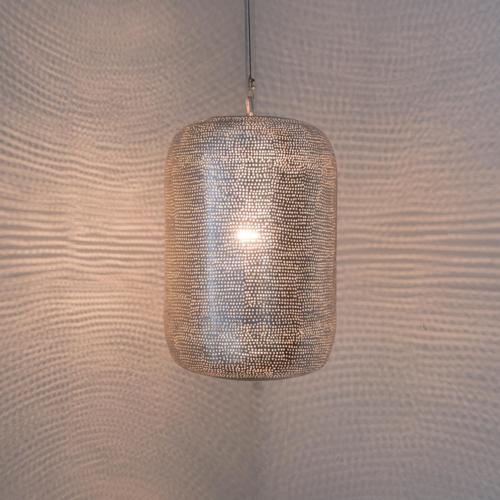 Hanglamp Moussa Zilver in 4 maten