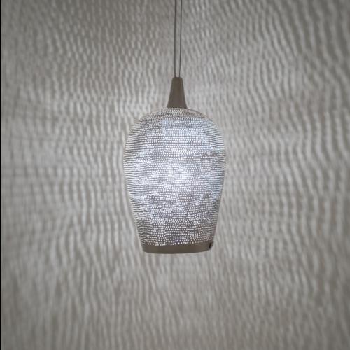 Hanglamp Mauli Zilver in 4 maten