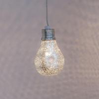 Hanglamp Reret Zilver in 2 maten