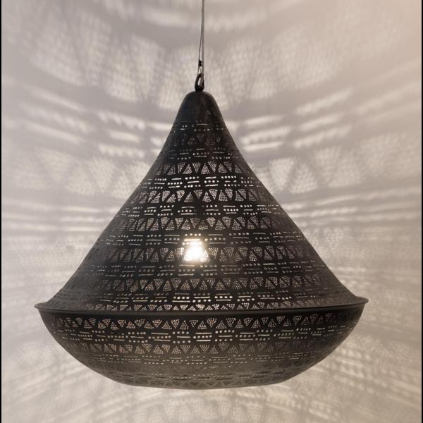 Hanglamp Mentu Triangles Zwart in 2 maten
