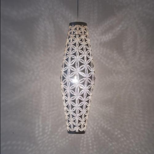 Hanglamp Ra Stars Zilver L