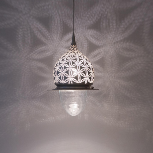 Hanglamp Tuth Stars Zilver M