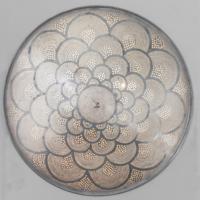 Plafondlamp Bennu Waaier Zilver in 2 maten