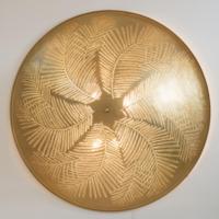 Plafondlamp Bennu Palm Goud XXL