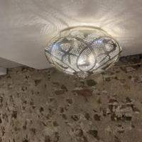 Plafondlamp Bes Lace Zilver in 3 maten
