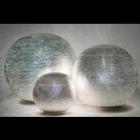 Tafellamp Chavi Zilver in 3 maten