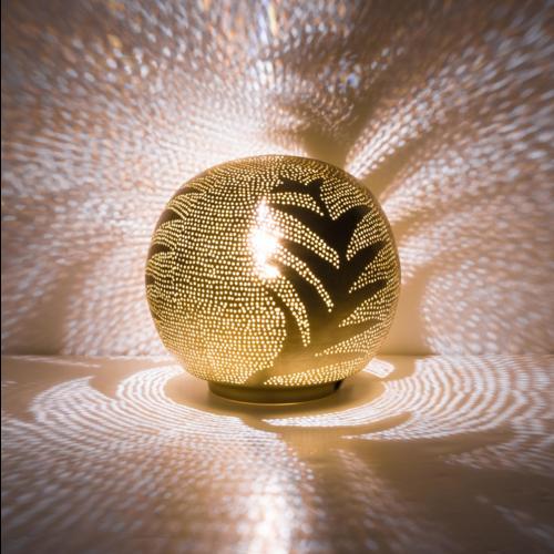 Tafellamp Chavi Palm Goud in 2 maten