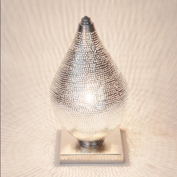 Tafellamp Memphis Zilver in 2 maten