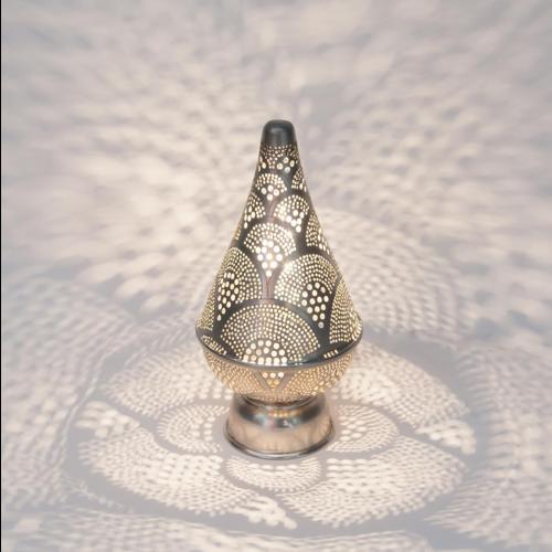 Tafellamp Dedwen Waaier Zilver Mini