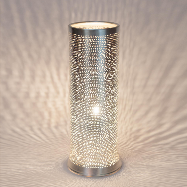 Tafellamp Lunet Zilver in 2 maten