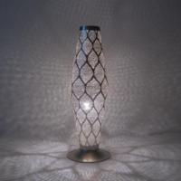 Tafellamp Ra Wire Zilver Small