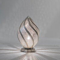 Tafellamp Yanara Lace Zilver Small