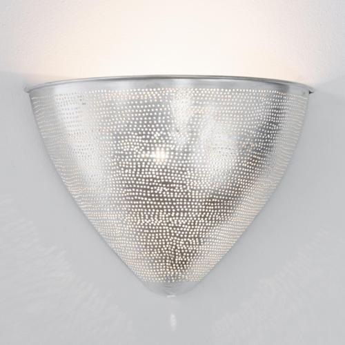 Wandlamp Wenet Zilver